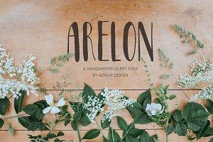 Arelon Handwritten Font