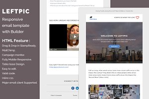 Leftpic - Responsive email template