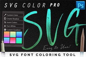 SVG Font Coloring Tool Pro