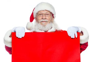 Christmas. The kind Santa Claus in