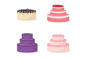 Cartoon Cakes Collection