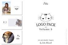 Logo Pack Vol.3. Pets