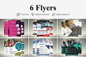 6 MultiPurpose Flyers
