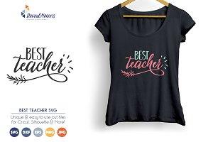 Best Teacher SVG Vector