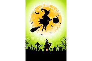 Halloween Funny Illustration