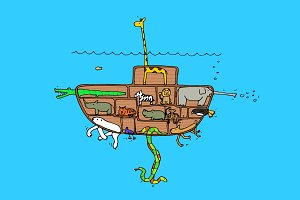 Noah's Submarine
