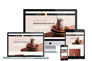 WS Pottery Responsive Wordpess Theme