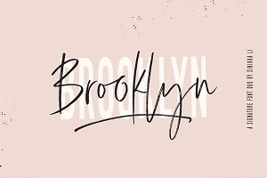 BROOKLYN FONT DUO