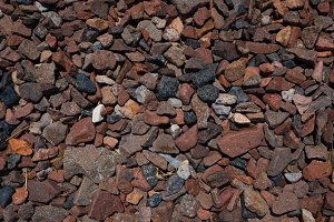 natural background of wet pebbles