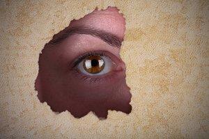 Mistery eye