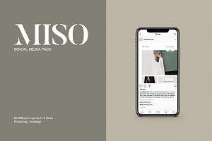 Miso Social Media Pack