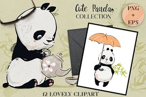 Cute Panda Collection