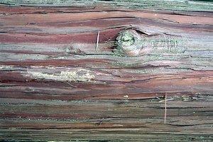 Japanese Cedar Bark Texture + Knot
