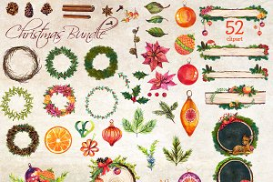 Christmas Clipart Bundle - 70