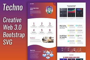 Techno - Creative Business Template