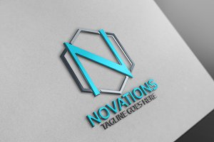 Novations /N Letter Logo