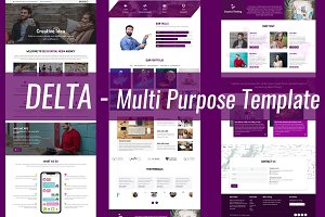Delta - Multi Purpose One Page
