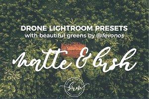 Matte & Lush Drone Lightroom Presets