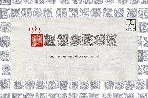 1585 Flowery initials OTF