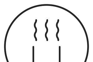 Magnet stroke icon, logo