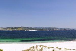 Figueiras beach  in Vigo, Spain.