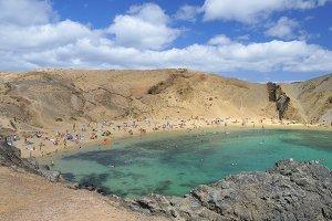 Papagayo beach.