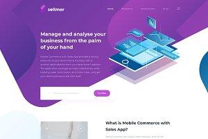 Modern Startup Landing Page
