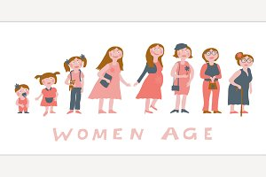 Woman age image
