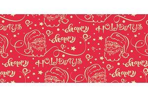 Christmas background - pattern