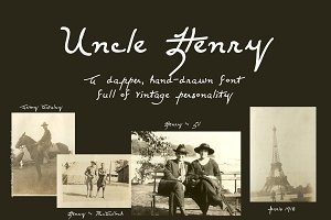 Uncle Henry Handwritten Font