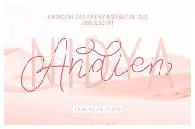 Andien Nidya - Script & Sans
