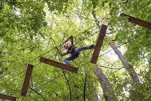 tree climbing adventure park