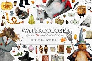 Watercolober Watercolor set