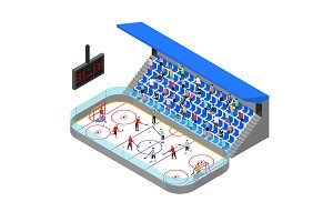 Ice Hockey Arena Competition Concept