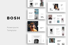 BOSH - Powerpoint Template by  in Presentations