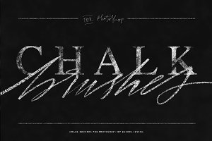 Chalk Brushes for Photoshop