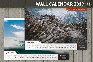 Wall Calendar 2019 (WC011-19)