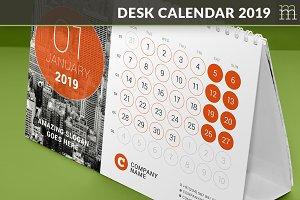 Desk Calendar 2019 (DC032-19)