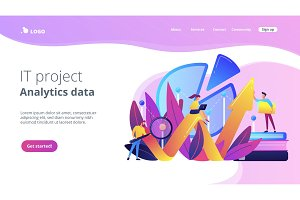 Business analysis it concept vector