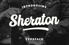Sheraton by  in Script Fonts