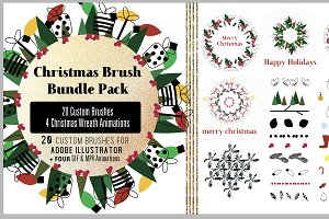 Christmas Brushes + Animations