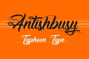 Antishbusy font