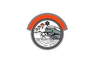 Sea Air Mountain Rescue Honey Badger