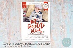 IC057 Hot Chocolate Marketing Board