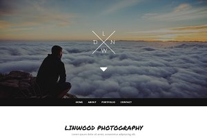 Linwood - Photography Template