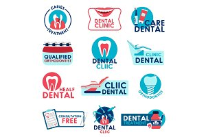 Dental clinic and dentistry medicine