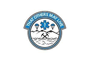 Sea Air Land Rescue Badge