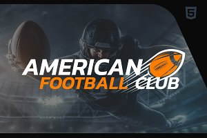 American Football HTML Template