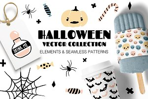 HALLOWEEN cute vector collection