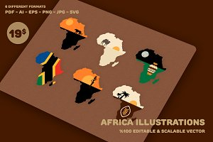 Africa Illustrations